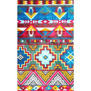 Nuloom Donella Retro Tribal Multi 6 Ft X 9 Area Rug Hjws01a 609 The Home Depot
