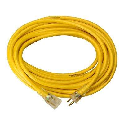 50 ft. 14/3 SJTW Outdoor Extension Cord with Power Lite Indicator