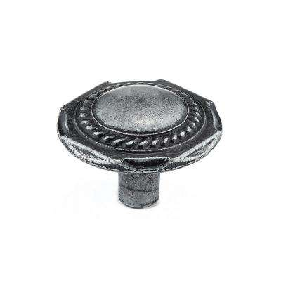 1-1/4 in. Wrought Iron Cabinet Knob
