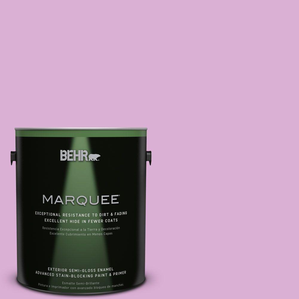 BEHR MARQUEE 1-gal. #P110-3 BFF Semi-Gloss Enamel Exterior Paint