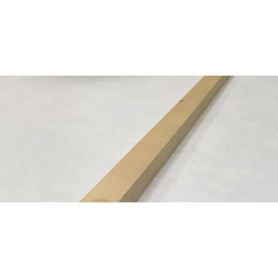 2 in. x 2 in. x 8 ft. Select Kiln-Dried Square Edge Whitewood Board