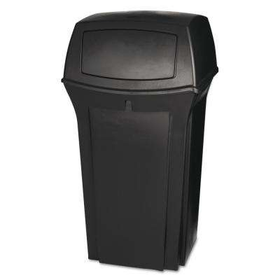 Ranger 35 Gal. Brown 2-Door Trash Can