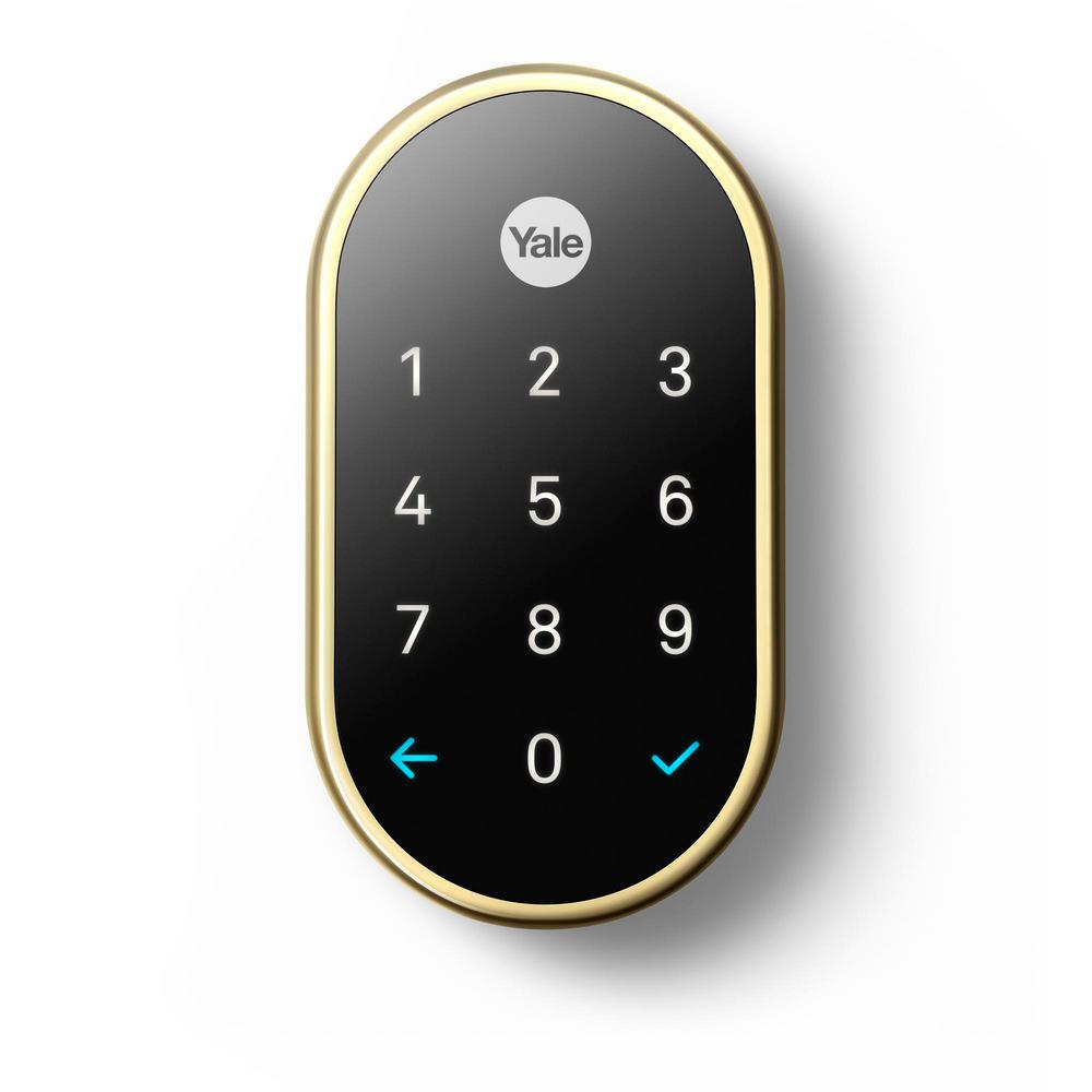 Nest Nest x Yale Lock Polished Brass with Nest Connect