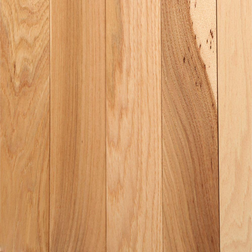 Hardwood Floors Home Depot Part - 24: Bruce Hickory Country Natural 3/4 In. Thick X 2-1/4 In. Width X Random  Length Solid Hardwood Flooring (20 Sq. Ft. / Case)-AHS601 - The Home Depot
