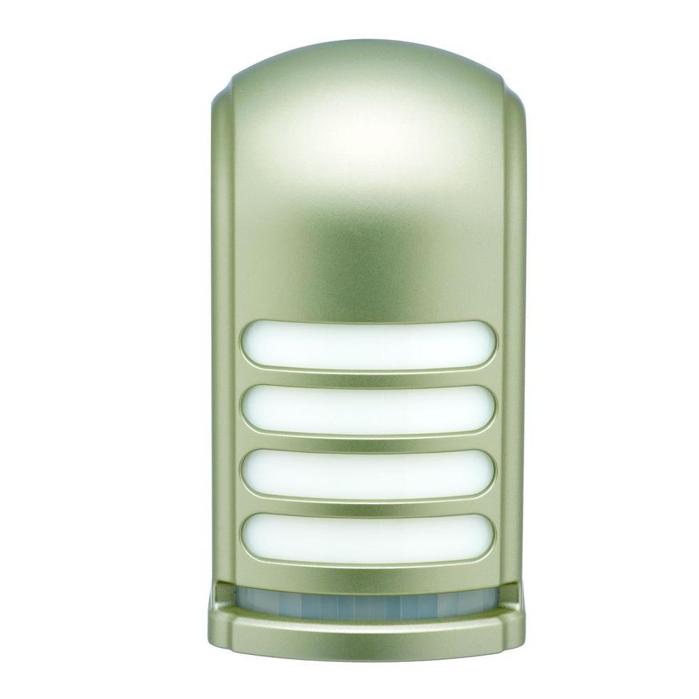 Pewter Motion Deck Light