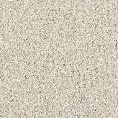 Carpet Sample - Out of Sight III - Color Antique Lace Texture 8 in. x 8 in.