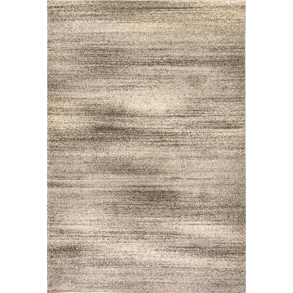 Lucy Light Grey 5 ft. x 8 ft. Indoor Area Rug