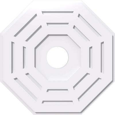 26 in. OD x 5 in. ID x 1 in. P Westin Architectural Grade PVC Contemporary Ceiling Medallion
