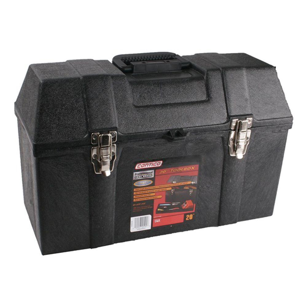 Contico 26 in. Structural Foam Hip Roof Tool Box