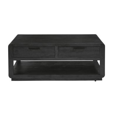 19 in. Allure II Black Cocktail Table