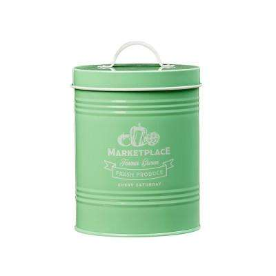 Marketplace 76 oz. Metal Storage Canister with Arched Handle