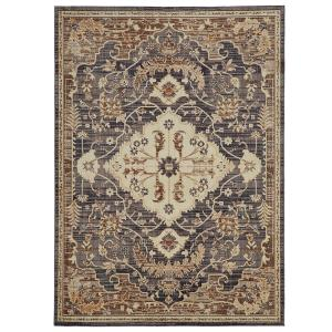 Home Decorators Collection Livia Blue Beige 7 Ft 6 In X 10 Area Rug 571993 The Depot