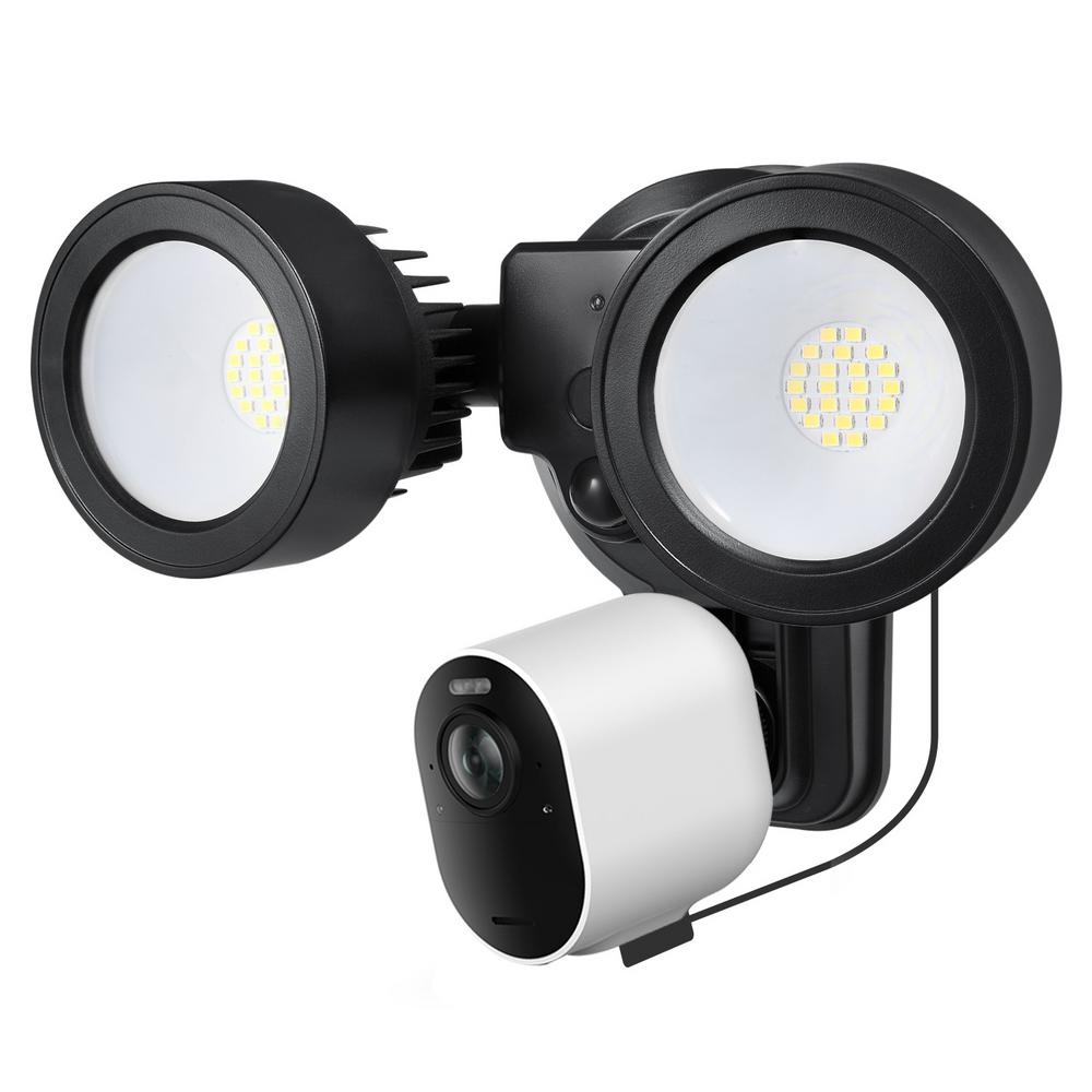 Wasserstein 3-in-1 Floodlight, Charger and Mount for Arlo ...
