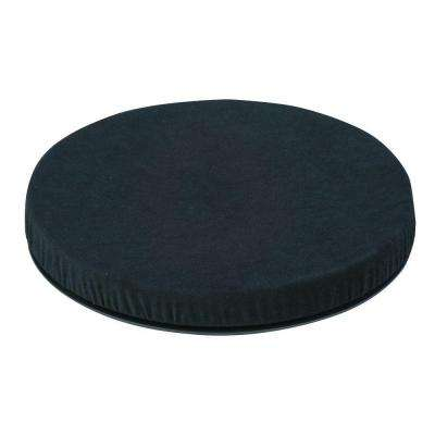 Deluxe Swivel Seat Cushion in Black