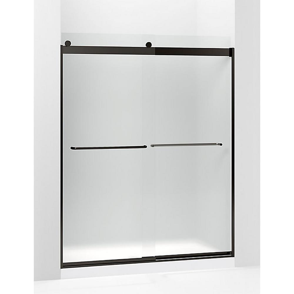 Kohler Levity 59625 In W X 74 In H Frameless Sliding Shower Door
