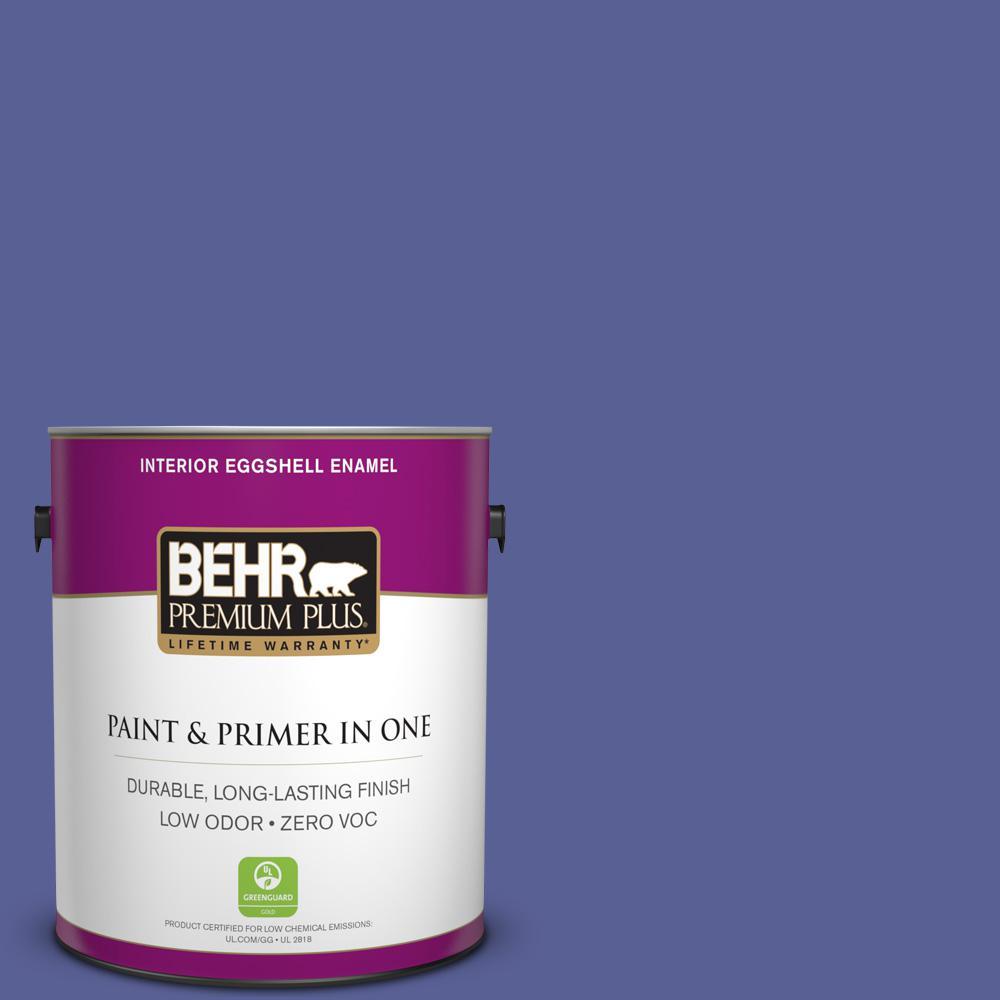 BEHR Premium Plus 1-gal. #S-G-620 Wizard Zero VOC Eggshell Enamel Interior Paint