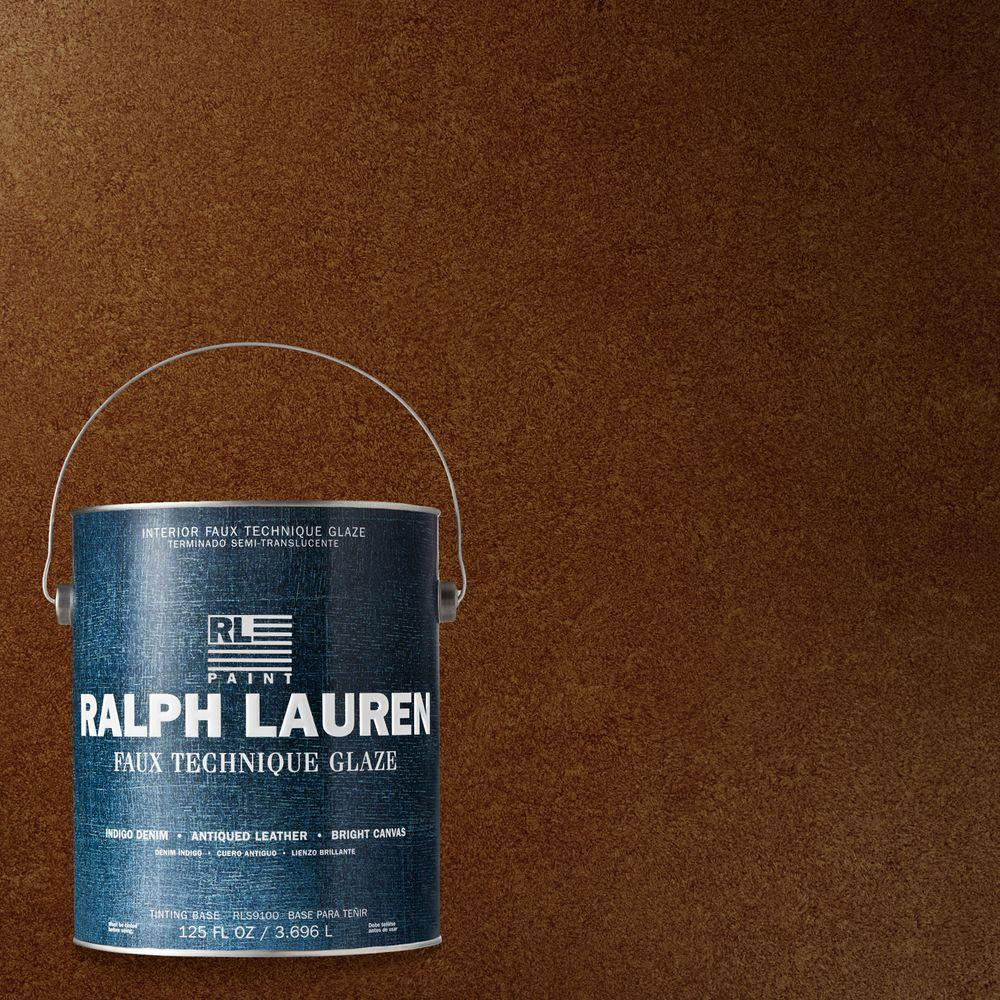 Ralph Lauren 1-gal. Chestnut Antique Leather Specialty Finish Interior Paint