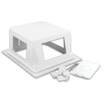 Recessed Entertainment Box - White