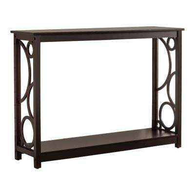 Cherry Bubble Design Entryway Console Table