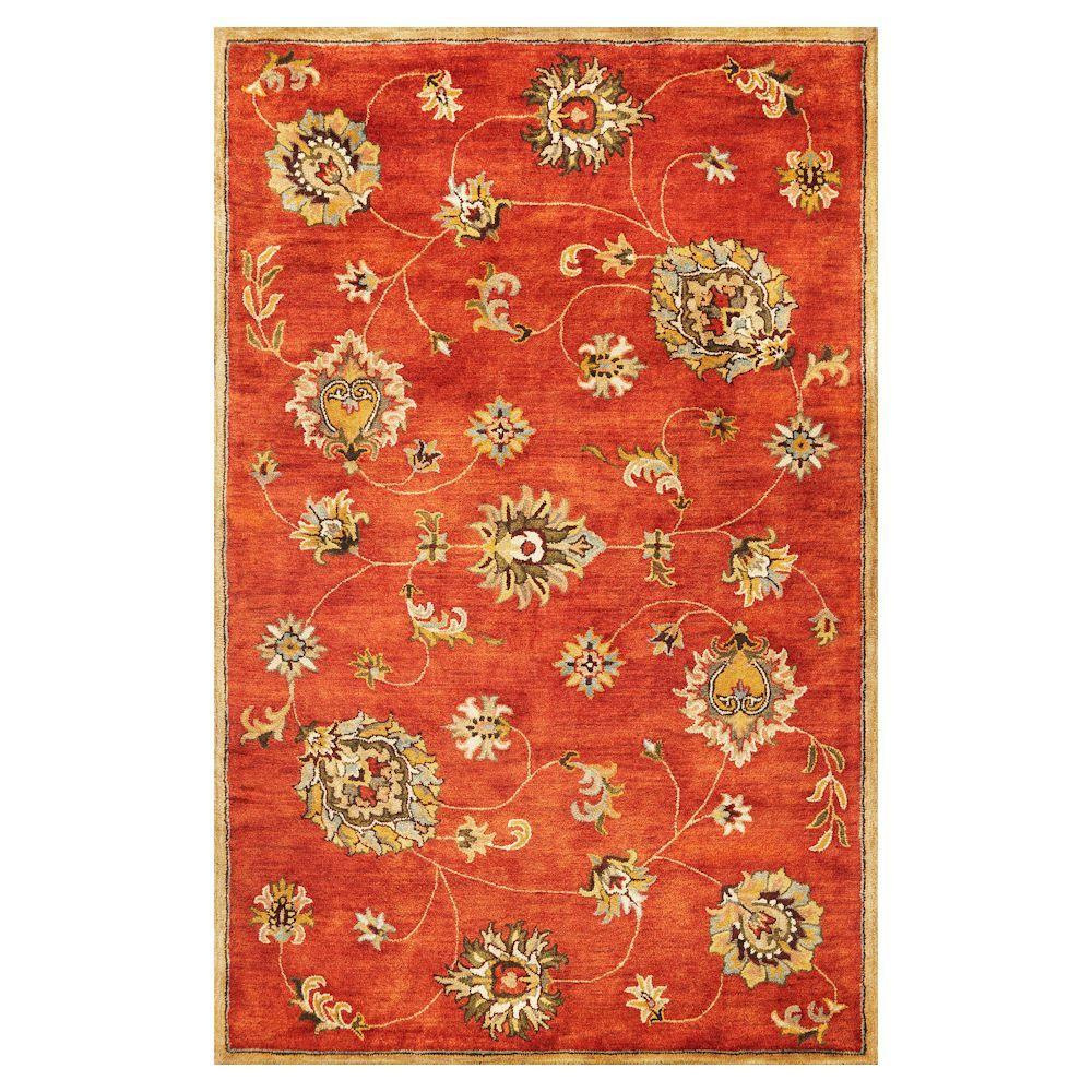 Kas Rugs Today's Mahal Sienna 9 ft. x 13 ft. Area Rug