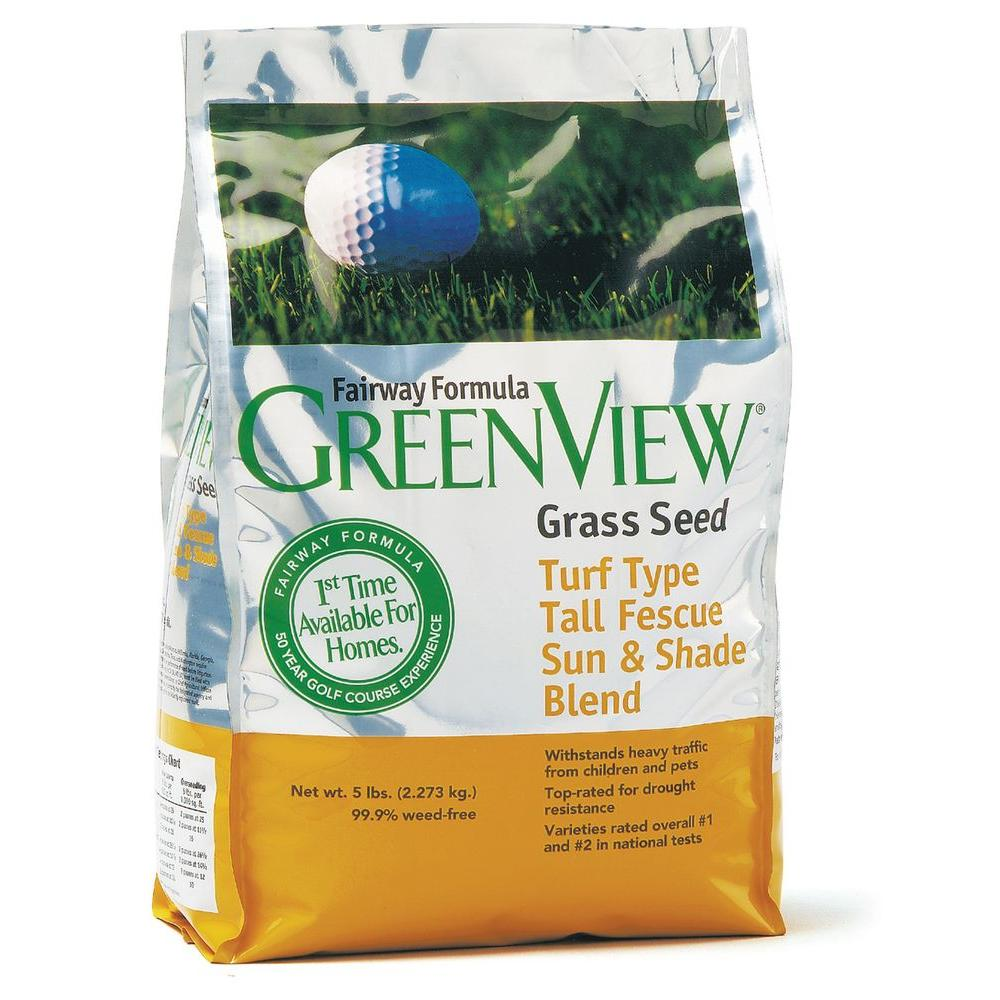Greenview Turf Tall Fescue Sun and Shade Blend Grass Seed