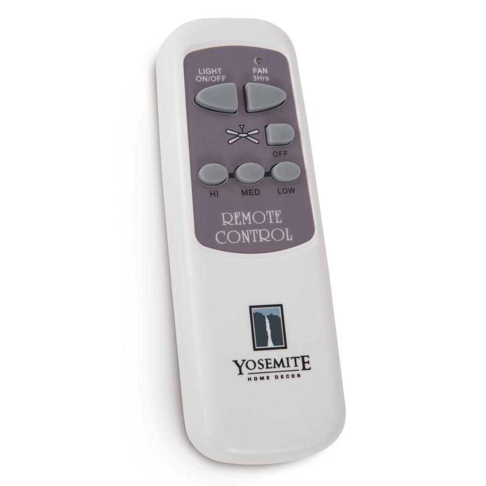 Yosemite Home Decor Remote Control For Ceiling Fans With 6 In Motor Use Canopyrem 1 The Home