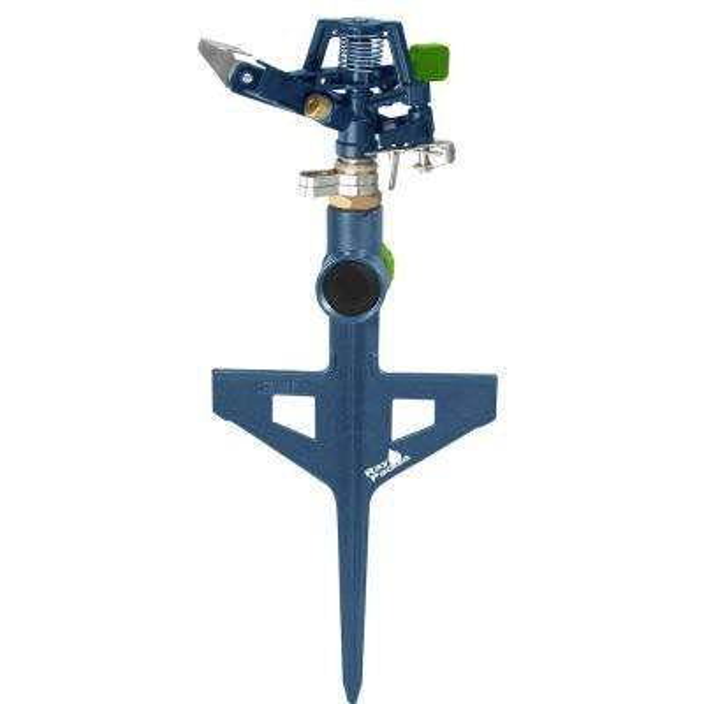 Metal Pulsating Sprinkler on In-Series Step Spike
