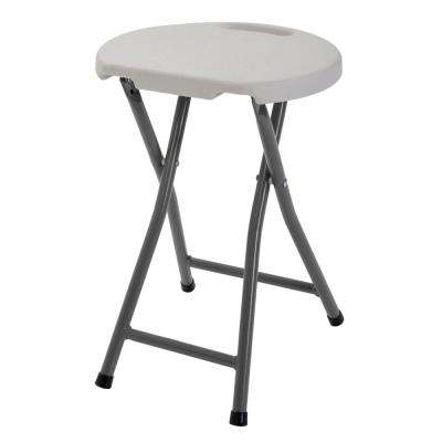 White Folding Stool (Set of 4)