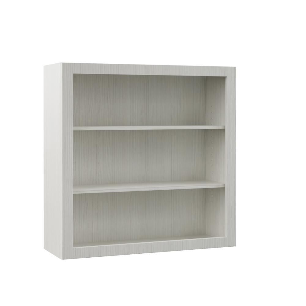 Open Cabinets: Hampton Bay Designer Series Edgeley Assembled 36x36x12 In