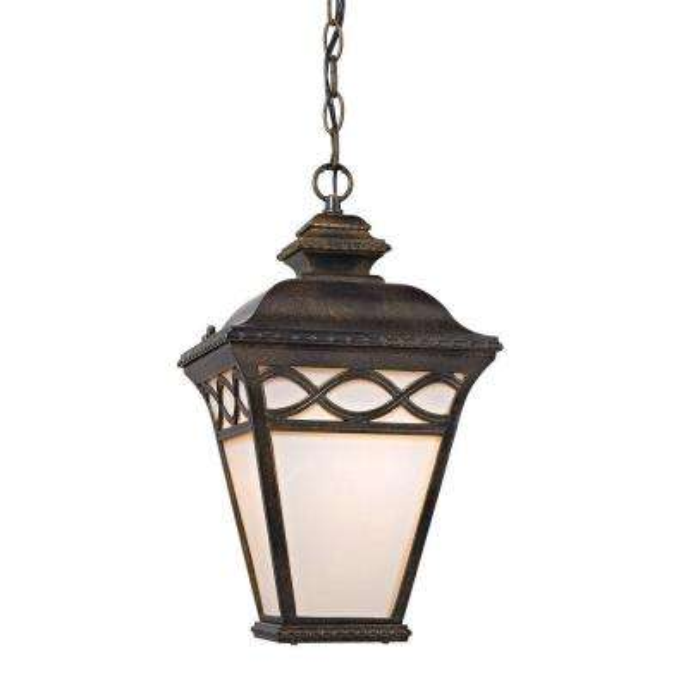 Mendham 1-Light Hazelnut Bronze Pendant Lantern