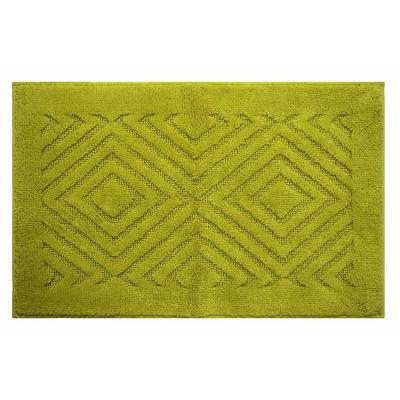 Trier Green 20 in. x 30 in. and 20 in. x 20 in. Bath Rug Set (2-Piece)