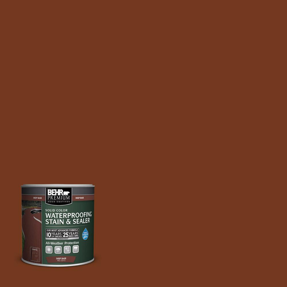 8 oz. #SC-116 Woodbridge Solid Color Waterproofing Stain and Sealer Sample