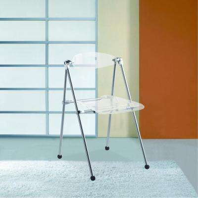 Acrylic Clear Folding Chair
