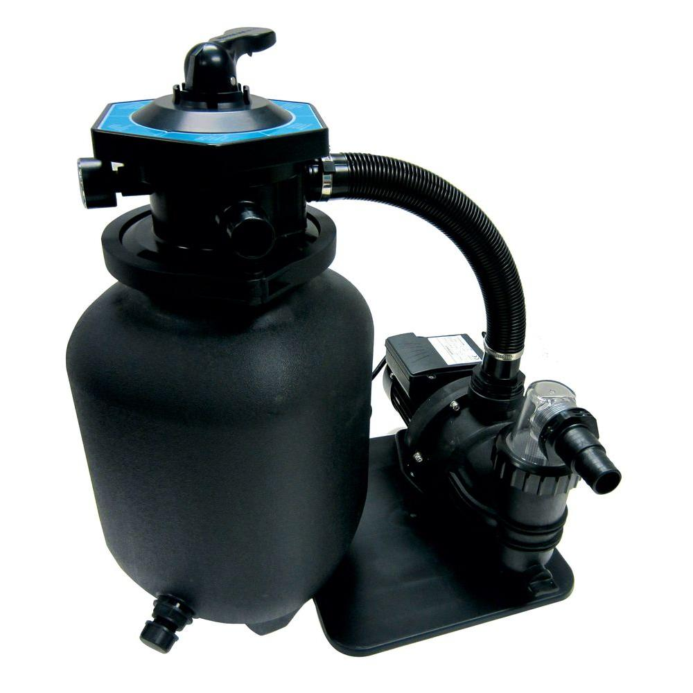 Smartpool 12 In Sand Filter System Scf12 The Home Depot