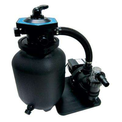 12 in. Pool Sand Filter System with 1/3 HP Pump