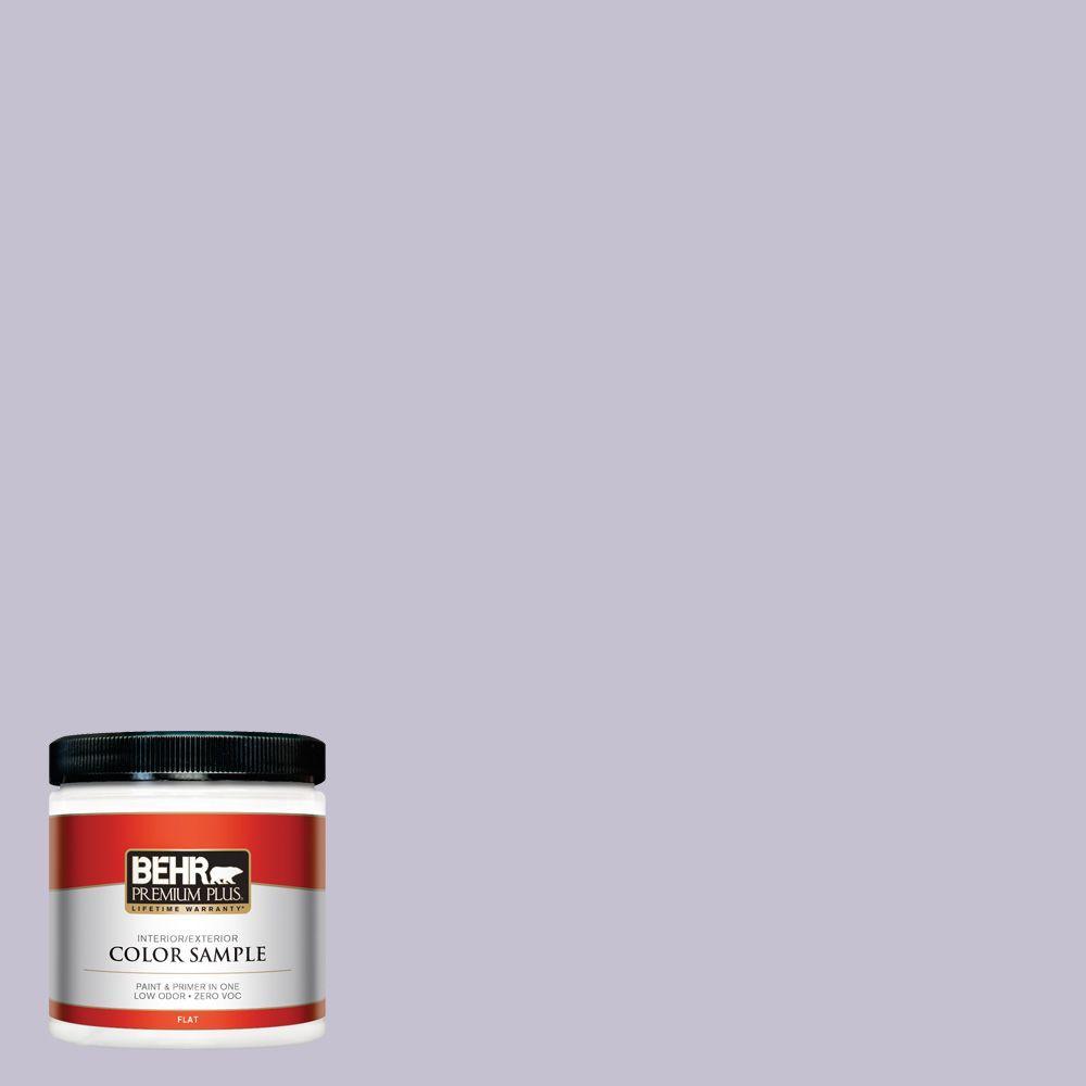 BEHR Premium Plus 8 oz. #ICC-44 Lavender Bouquet Interior/Exterior Paint Sample