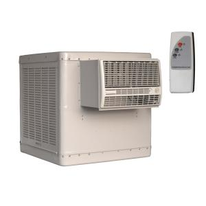 cfm 2speed window evaporative cooler for sq ft with