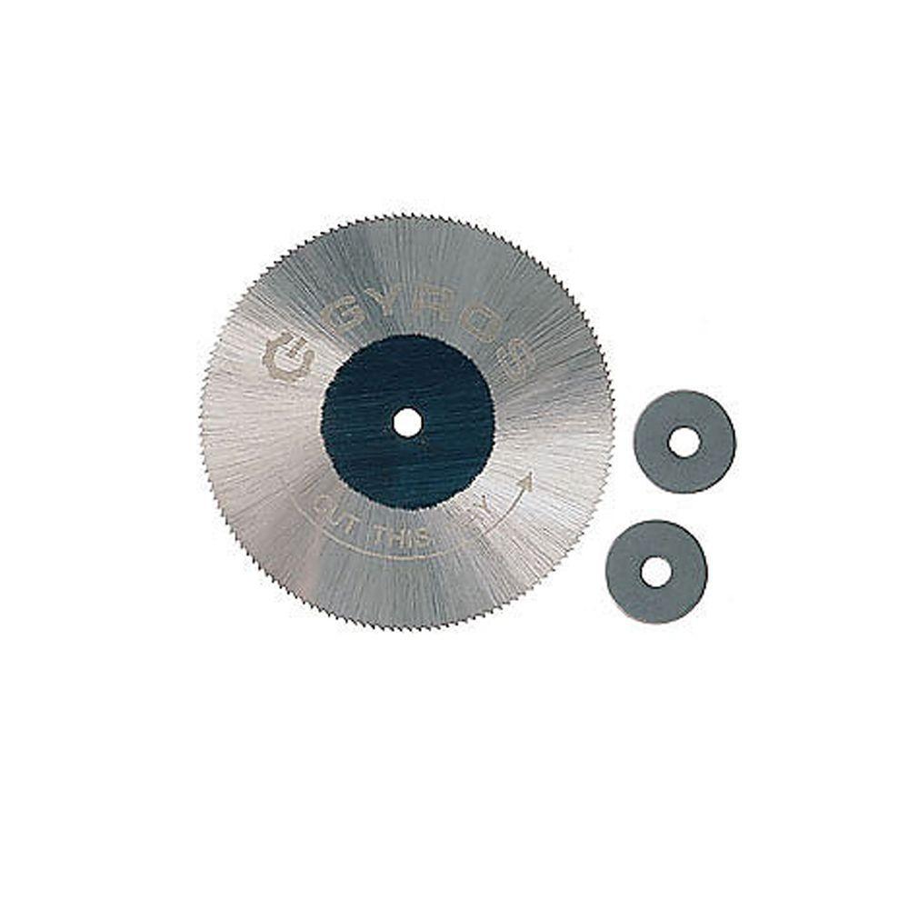 Gyros 2 in. Diameter Fine Teeth Saw Blade