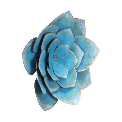 Metal Lotus Medium Wall Decor