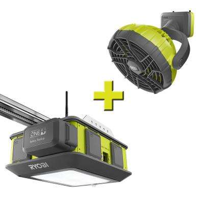 Ultra-Quiet 2 HP Belt Drive Garage Door Opener with Fan Accessory