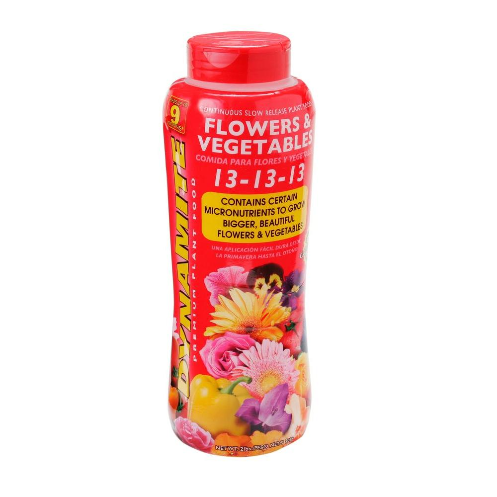 2 lb. Flowers and Vegetables Plant Food