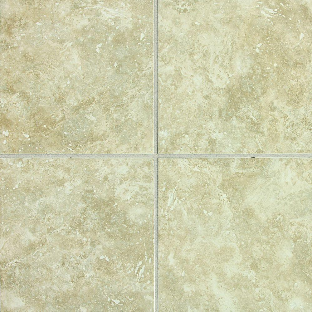 Merola tile alabama natural 12 in x 12 in ceramic floor and wall glazed ceramic floor and wall dailygadgetfo Choice Image