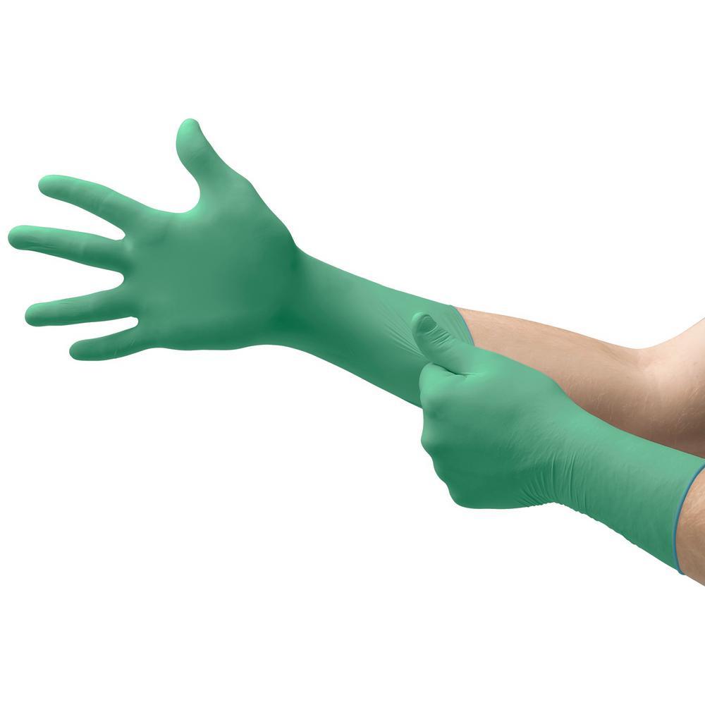 Chem 3 X-Large Chemical Resistant Disposable Gloves (6 Gloves per Pack)