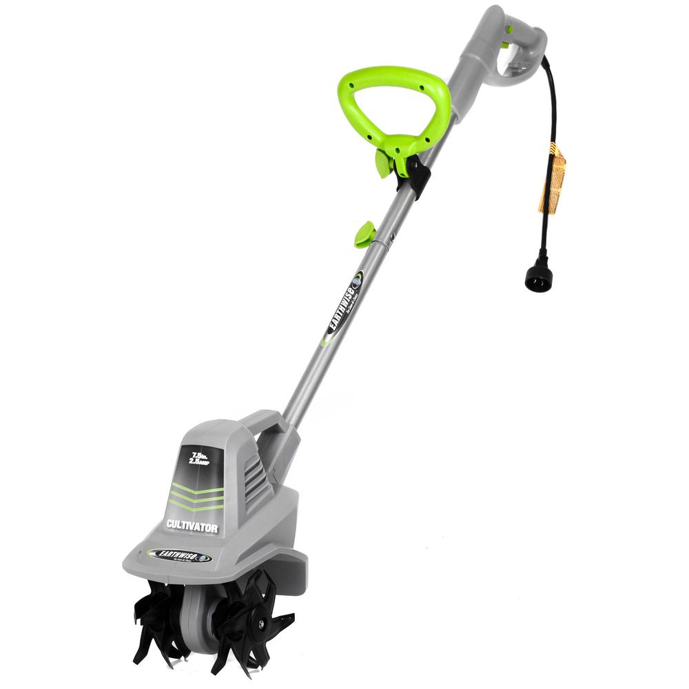 Earthwise 7 5 In 2 Amp Electric Corded Garden Cultivator