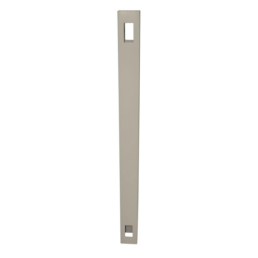 5 in. x 5 in. x 10 ft. Khaki Vinyl Fence