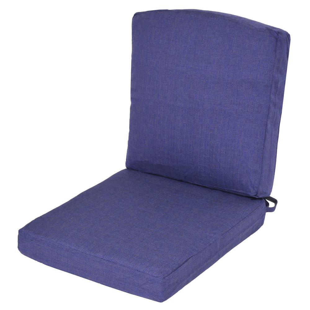 Oak Cliff Sky Replacement 2 Piece Outdoor Dining Chair  : outdoor dining chair cushions 7947 01407404 641000 from www.homedepot.com size 1000 x 1000 jpeg 70kB