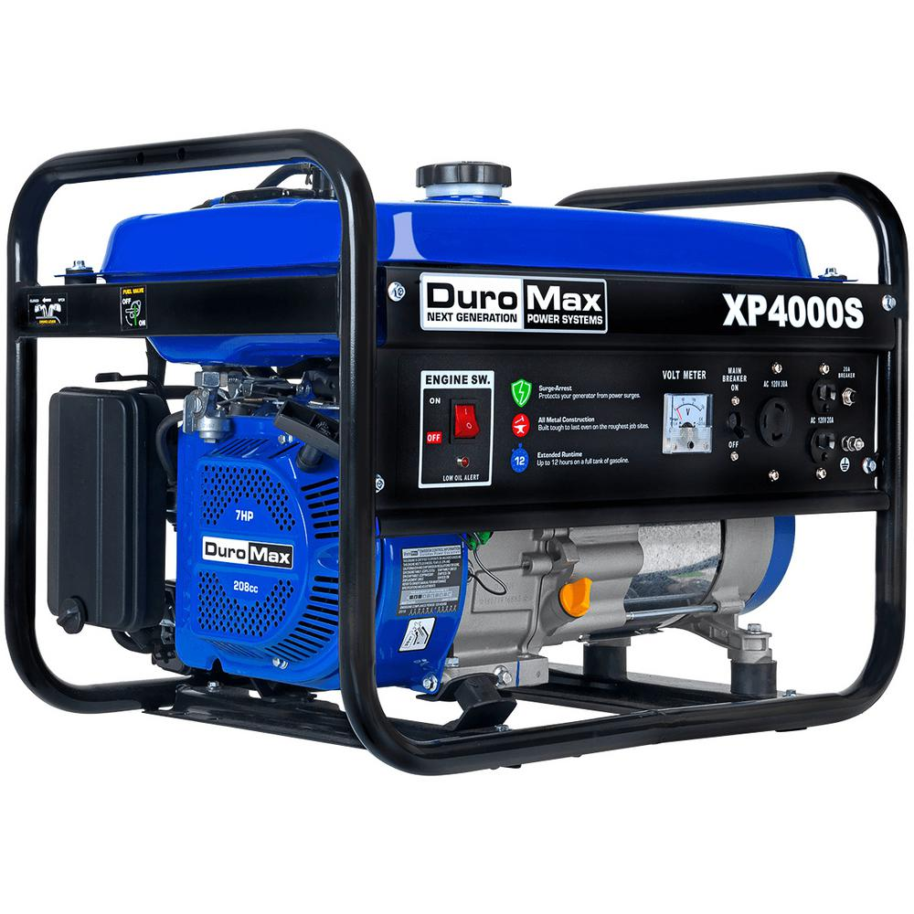 Duromax 3300-Watt Gasoline Powered Portable Generator