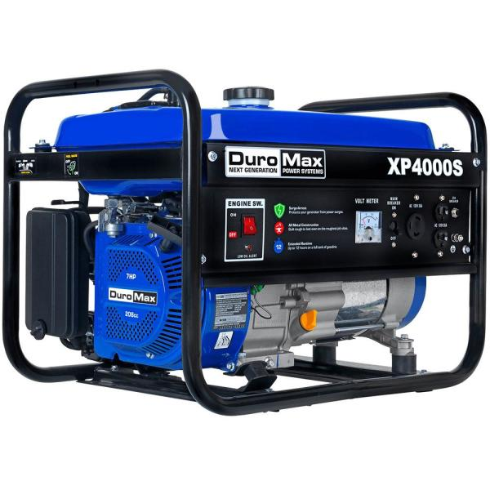 3300-Watt Recoil Start Gasoline Powered Portable Generator