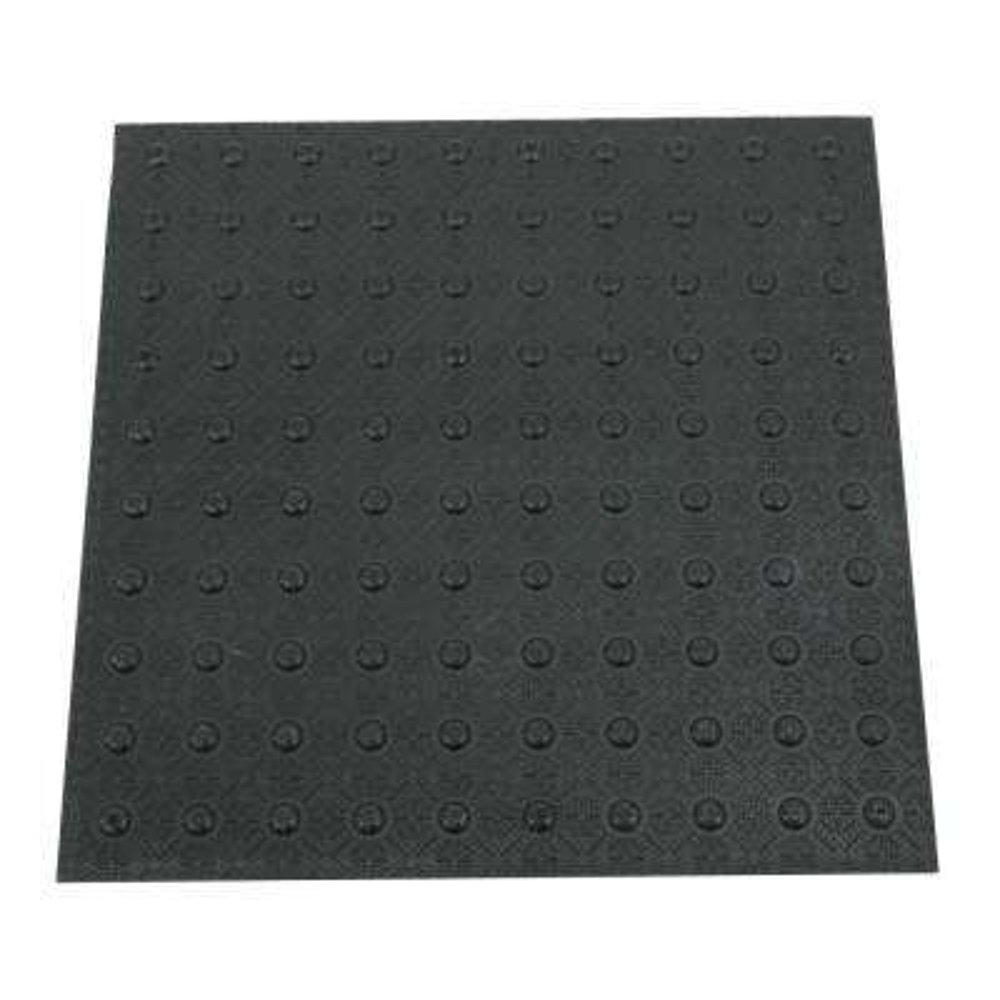 2 ft. x 2 ft. Black Detectable Warning Tile