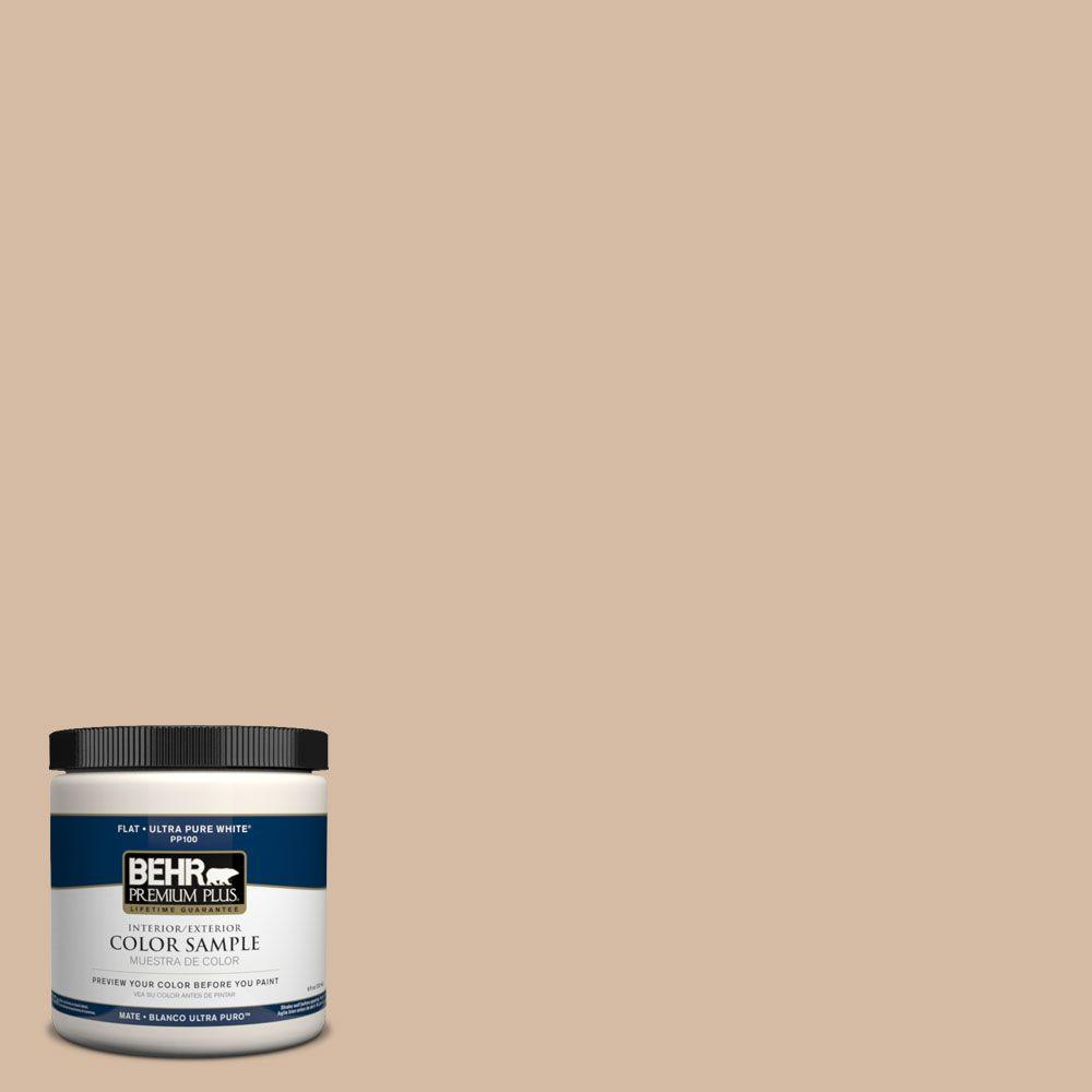 BEHR Premium Plus 8 oz. #PPH-15 Sabor A Nuez Interior/Exterior Paint Sample